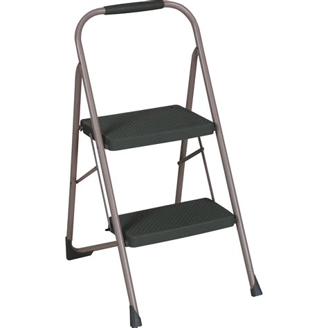 Foldable Step Stool With Handle by Simplify Striped Folding Step Stool With Handle Walmart