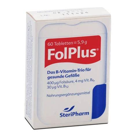 Vitamin Folaplus folplus kaufen preis erfahrungen inhaltsstoffe nu3