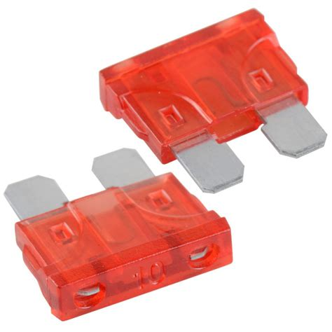 Medium Sized Automotive Blade Fuse 15a high quality 50pcs car auto truck mini blade medium 10a