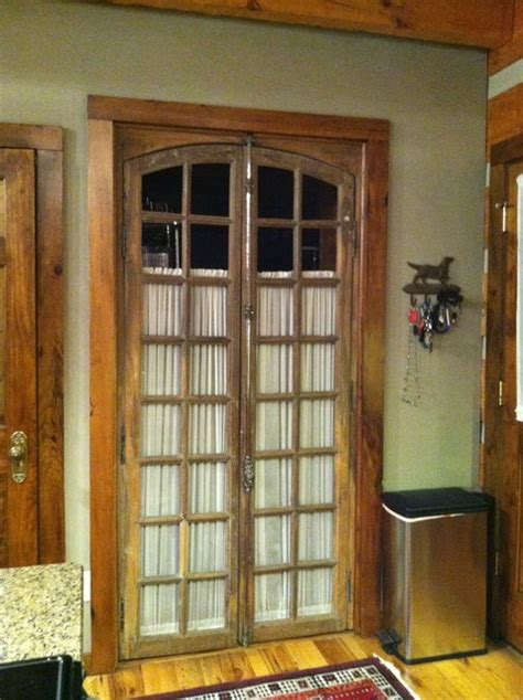 Antique French Doors Lead To Laundry Room Traditional Interior Doors Nashville