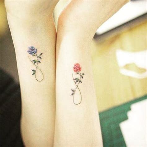 rose infinity tattoo 22 awesome sibling tattoos for brothers and