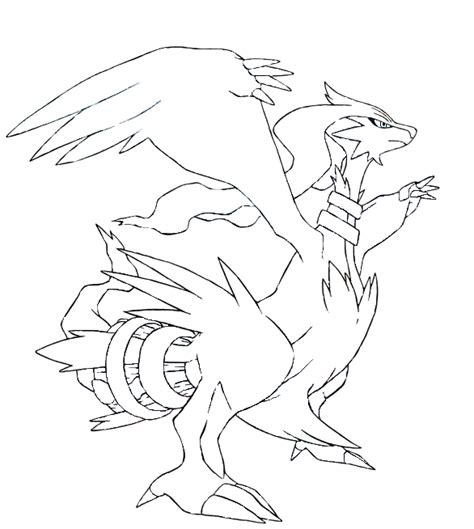 pokemon coloring pages of zekrom and reshiram pokemon reshiram coloring pages coloring pages