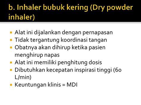 Alat Handihaler Terapi Inhalasi Dr Anang