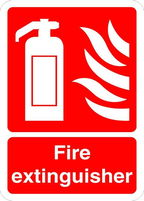 printable osha stickers fire extinguisher fire osha ansi label decal sticker ebay