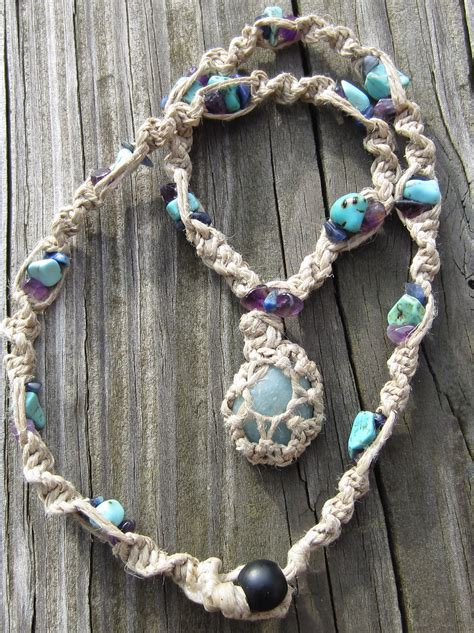 how to make rock jewelry how to wrap a with string jewelry tutorial