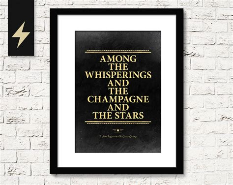 printable gatsby quotes great gatsby chagne quote f scott fitzgerald the great