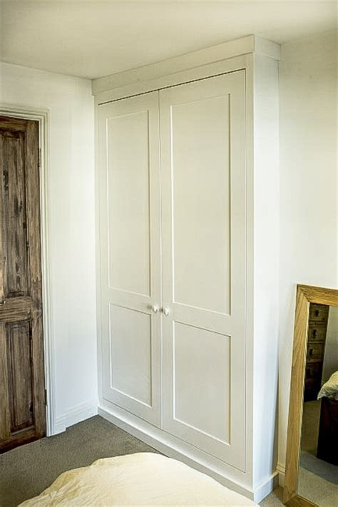 gorgeous built  shaker wardrobes  timeless