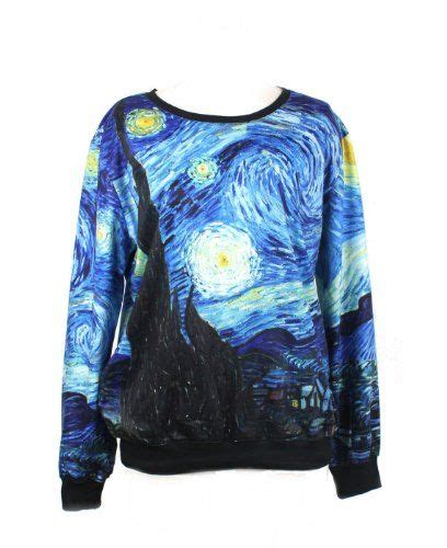 sweater kaos hoodie motif print 20 99 awesome loveliness gogh s starry calico