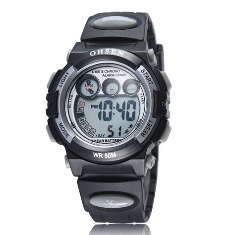 waterproof digital ohsen waterproof digital sport ad1509 1 black