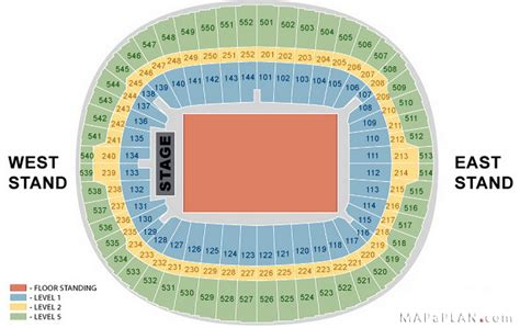 Wembley Stadium Floor Plan | wembley stadium seating plan detailed layout mapaplan com