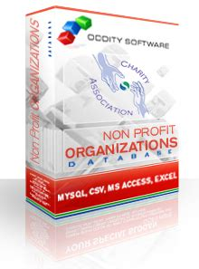 Non Profit Organizations Records Non Profit Organizations Database Non Profits Locations List
