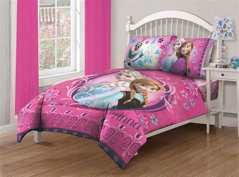 Disney Frozen Nordic Florals Full Comforter Set With