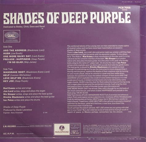 shades of deep purple psychedelia 187 blog archive 187 deep purple shades of deep purple