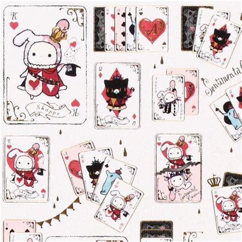 imagenes de sentimental circus pegatinas kawaii con naipes de sentimental circus de san x