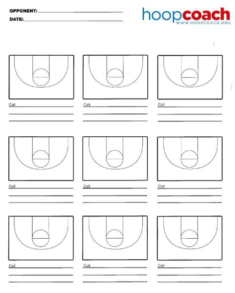 basketball court diagrams for plays nine court basketball court diagram hoop coach