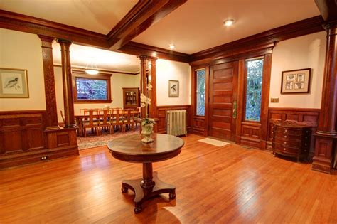 Average Dining Room Size american foursquare interior design photos 2 homes
