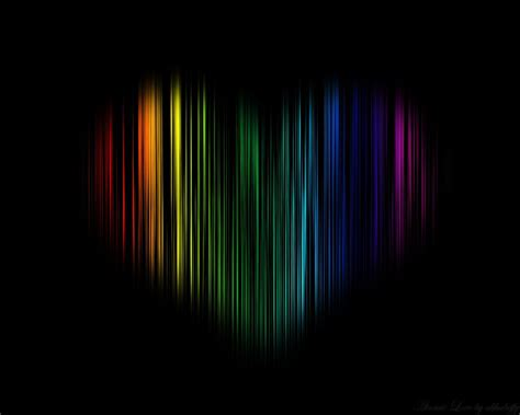 colorful love wallpaper hd awesome colorful love image in black background picture