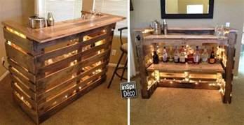 fabriquer un comptoir de bar en bois image sur le design