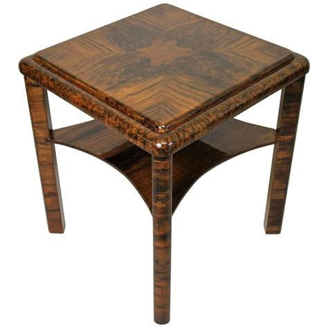 unusual side tables art deco side table unusual quot painted quot austria circa 1925