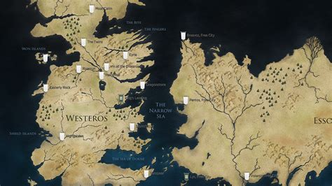 got map the ultimate of thrones filming locations map