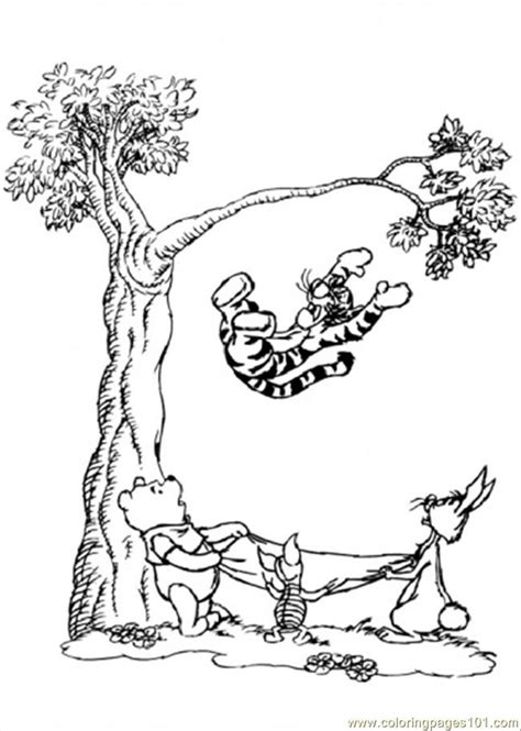 winnie the pooh fall pictures az coloring pages