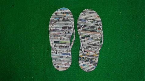 tutorial membuat sandal tidur tutorial membuat sandal dari koran bekas qudsfata
