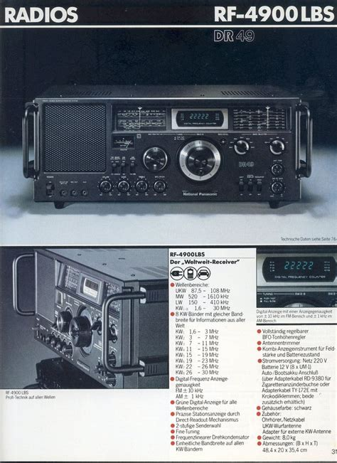 1980 1981 audio radios and audio