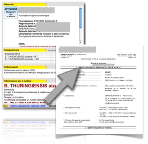 dati fitofarmaci schede di sicurezza cataloghi e nuove registrazioni