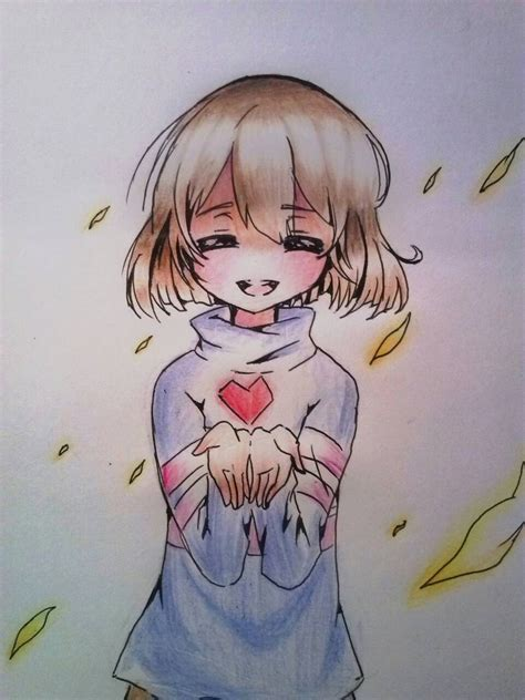 undertale fan no fanart frisk of undertale by sweetmeloday on deviantart
