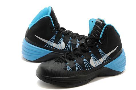 black and blue nike basketball shoes nike blue and black basketball shoes 28 images nike