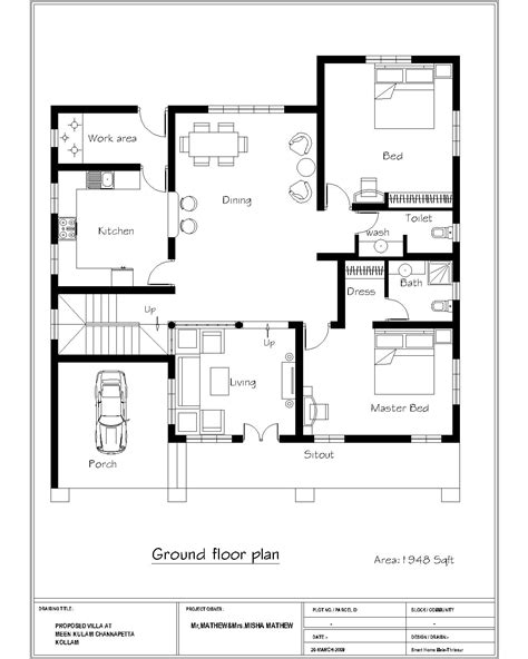 4 bedroom single floor house plans india www indiepedia org