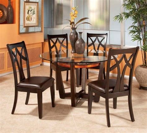 glass dining room table set small dining room table sets for simple home dining room