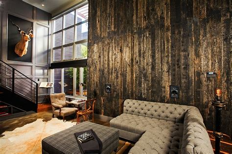Industrial Interiors Home Decor Industrial Retro Interior Design Homeadore