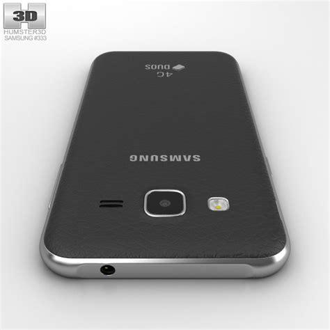 Samsung J2 Free samsung galaxy j2 black 3d model humster3d