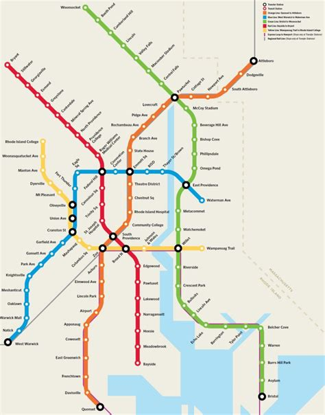 subway map in crowdsourcing the improbable providence subway map