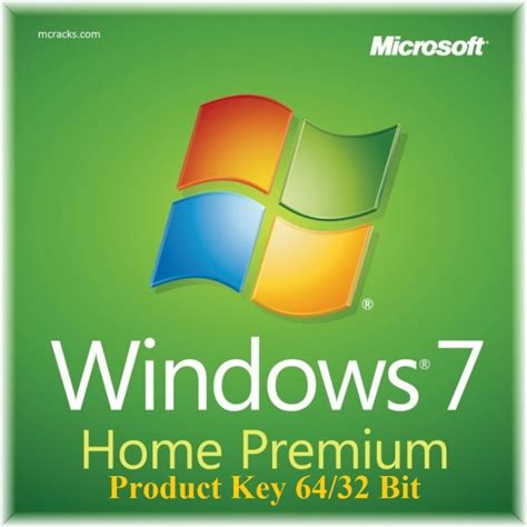 windows 7 home premium product key 64 32 bit activation key