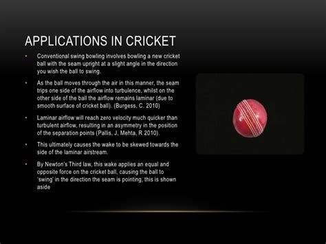 cricket ball swing physics physics of a cricket ball