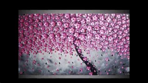 Wall Murals Stencils tree paintings textured 3d acrylic art part 5 malerei