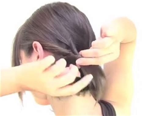 tutorial rambut diikat tutorial rambut wanita gaya simple untuk rambut pendek