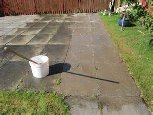 Stone Patio Slabs by Clean Moss Algae Lichens Patios Slabs Pavers Drives