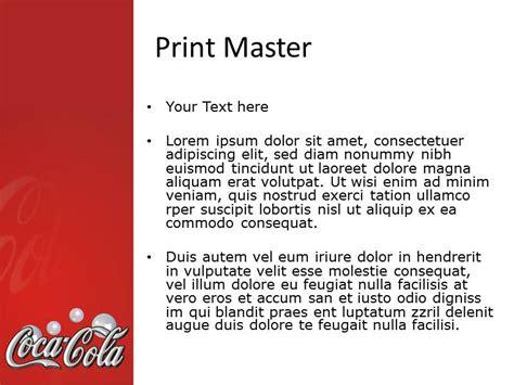 Coca Cola Powerpoint Template Free Coca Cola Powerpoint Coca Cola Template