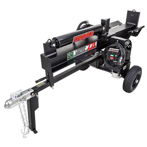 swisher 22 ton 15 electric log splitter ls22e the