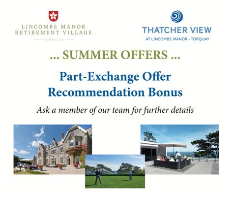 buying a part exchange house offers part exchange lincombe manor
