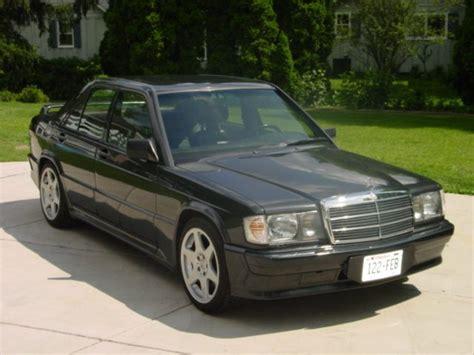 mercedes usa 1986 1987 mercedes 190 e 2 3 16 usa review
