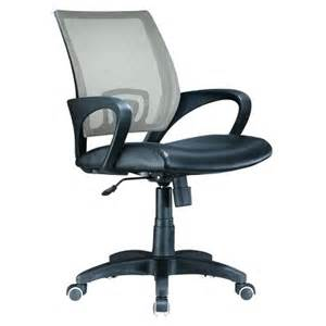 Desk Chairs From Target Lumisource Officer Desk Chair Silver Target