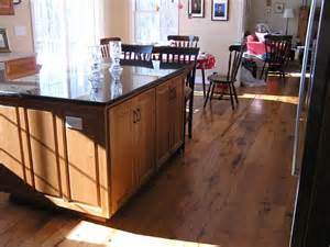 Purchase Kitchen Island please show me your wood floors with your cherry cabinets