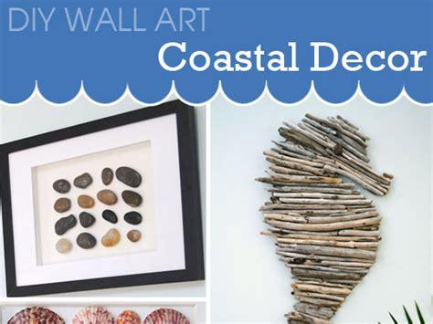 make your own artwork for home decor diy wall ideas for coastal decor