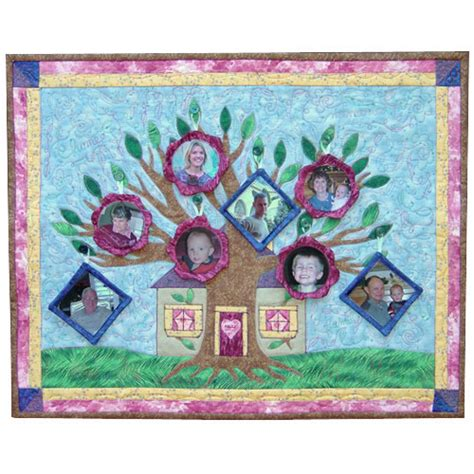 Family Tree Quilt Pattern by Family Tree Quilt Quilters Warehouses