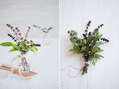 Wedding Bouquet Herbs by Fragrant Herb Bouquets The Wedding Company The