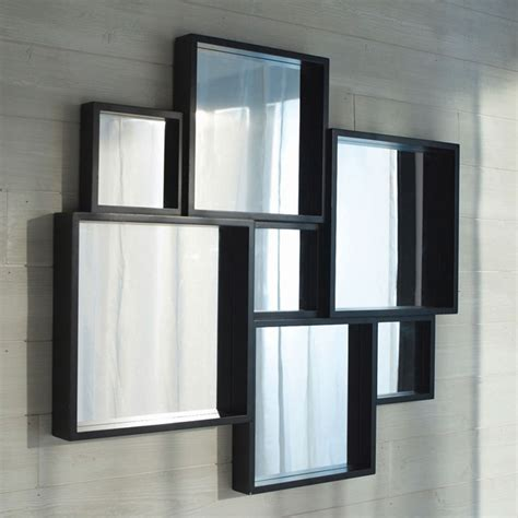 miroirs contemporains miroir castorama photo 16 20 miroir contemporain noir de chez castorama
